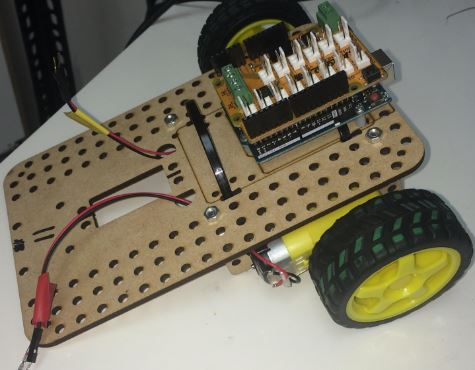 Tutorial: Light Controlled Robot Cars